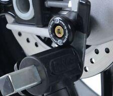 MOTORCYCLE R&G Cotton Reels  ONE PAIR BLACK M8 Suzuki DL650 V-Strom (2018)