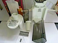 More details for hamilton beach health smart juice extractor cj08 electric juicer model 1g67150