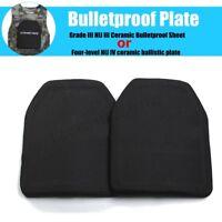 Anti Ballistic Bulletproof Steel Plate Grade III NIJ III/Four-level NIJ IV 25x30