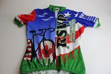 Vomax Seattle To Vancouver Cycling Shirt Medium M