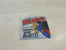 "1978 DC Comics Superboy Ka-Boom Survives Bomb Blasts! Sticker 3.5"" x 3.5"""