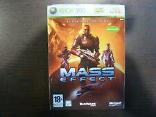XBox 360 Mass effect  Edition Collector Limitée PAL  Complet Voir Descriptif  Fr