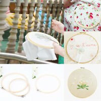 Wooden Embroidery Cross Stitch Tapestry Ring Hoop Frame Hand Craft DIY 13-34cm