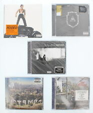 5 CD Rap Bundle Jeezy, The Game, Compton Sound Track, August Alsina, and Travis