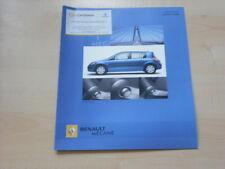 52220) Renault Megane Avantage Prospekt 07/2005