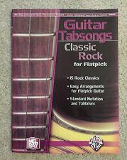 Guitar Tabsongs: Classic Rock for Flatpick