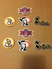 Superbowl Vikings Saints Iron On Patches Sports Memorabilia Football