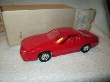 1990 Chevrolet camaro IROC Z 90 Dealer Promo red  LOOSE DISPLAY PIECE