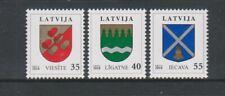 Latvia - 2010, Arms set - MNH - SG 769/71