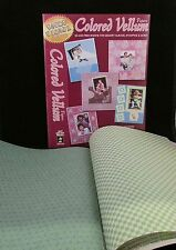 """PAPER PIZAZZ SHEETS-2 Books-(32) COLORED VELLUM PAPERS-8 1/2""""x11"""" size"""