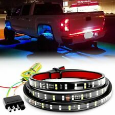 "2-Row 60"" LED Strip Tailgate Brake Light Bar For Ford Chevy Nissan Dodge Toyota"