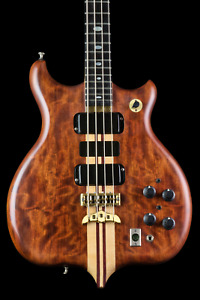 TIME CAPSULE! Alembic Series 1 Bass in Bubinga with DS-5, cable, etc. Vintage!