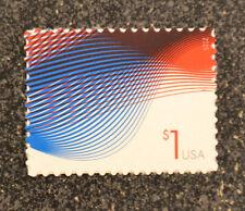 2015USA #4953 $1.00 Patriotic Waves - Mint  NH  one dollar 1