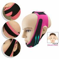 Masque de réducteur de menton double de ceinture de levage de visage de femmes