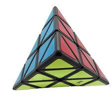 Cubo Moyu Mo Yu Pyraminx negro Antipop stickers Speed Cube Speedcube Yj8230