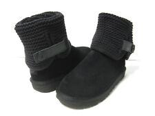 UGG SHAINA WOMEN CONVERTIBEL BOOTS SUEDE BLACKUS 6 /UK 4.5 /EU 37 /JP 23