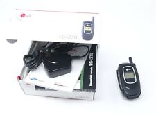 Lg Lg4270 Black Cellular Flip Phone with Original Box and Charger