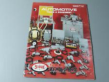 Vintage 1981 Sales Catalog AUTOMOTIVE TOOLS & EQUIPMENT SIOUX TOOLS INC Iowa