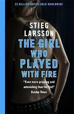 Girl Who Played With Fire.  Stieg Larsson.  23 Million Copies Sold.  569 Pages