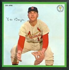Rare Baseball:Ken Boyer St.Louis Cardinals Auravision Record1964Free Us Shipping