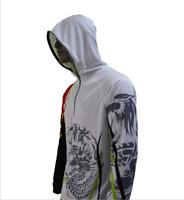 Fishing Long Sleeve Shirts Polyester Sun Protection Shirts Quick Dry
