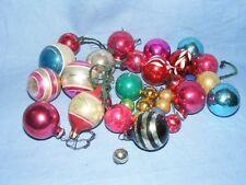 VINTAGE di Vetro Albero di Natale Decorazione Ornamento NINNOLI Selezione