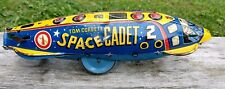 Vintage 1950's Tom Corbett Space Cadet Marx Polaris Wind Up, Works!