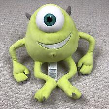 "12"" Disney Pixar Mike Wazowski Monsters Inc. Plush Stuffed Animal Toy EUC"