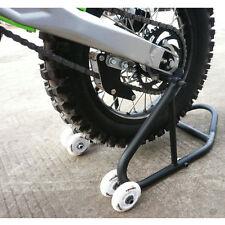 Motorcycle Dirt Pit Bike Rear Race Paddock Stand Lift Fork For Honda Kawasaki