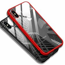 Metal Magnetic Adsorption Case Luxury Tempered Glass Screen Protector For Apple