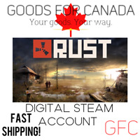RUST - Steam Account (Global + Mail Change)