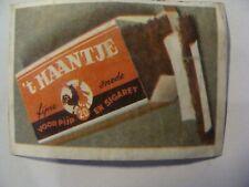 Etiquette Allumette - Tabac - 't HAANTJE - Belgium - (144)