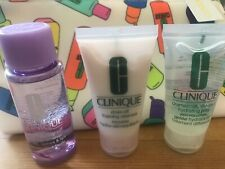 Clinique rinse off foaming , dramatically different jelly, take the day set new