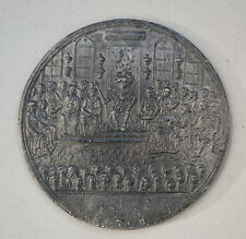 FRENCH REVOLUTION TIN MEDAL