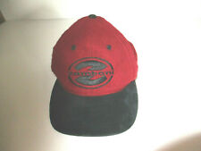 Zamboni Cap Hat Adjustable Strapback Big Z Black Maroon