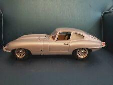 Burago Jaguar E Type 1961 Silver