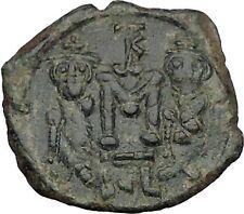 Constans Ii Constantine Iv Heraclius Tiberius Syracuse Byzantine Coin i51425