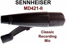 SENNHEISER MD421-II Classic Recording Mic - Five Position Bass Roll-Off Switch
