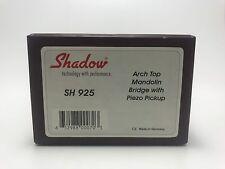 NIB, Shadow Electronics SH 925  Archtop Mandolin Piezo Bridge Pickup w/Ext Jack
