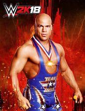 WWE 2K18 Kurt Angle Character (Sony PlayStation 4)