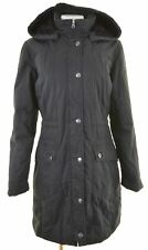 LEVI'S Womens Windbreaker Coat Size 16 Large Black Cotton  FF17