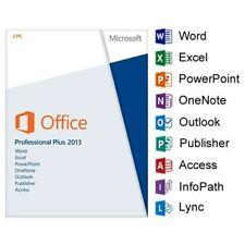 Office 2013 Pro Plus 32/64 Bit Licence Key