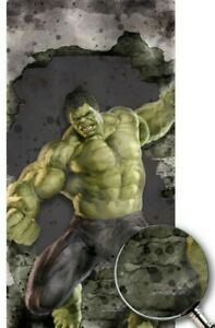 Avengers Hulk Cornhole Boards Decal Marvel Sticker Texture Single M2361