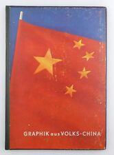 #e8186 Buch: Graphik aus Volks-China Ministerium für Volksbildung der DDR
