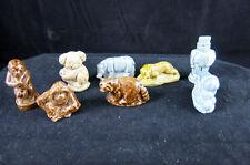 Wade Tea Figurines Koala Orangutan Monkey Jaguar Rhino Racoon Man Cannon Vintage