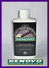 "Renovo,Canvas,Soft Top,Hood Reviver,""BLACK"" 500ml."