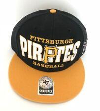Pittsburgh Pirates Cap Hat Forty Seven 47 Snapback Alternate Logo Adjustable