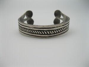 RARE Old William Spratling Mexican Sterling Silver - Dog Bone - Bracelet