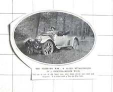 1912 A 14 h.p. Metallurgique In Buckinghamshire Wood, Van Den Plas