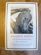 Auguste rodin de Rainer Maria Rilke con 97 repuestos parte insular i editorial k0227